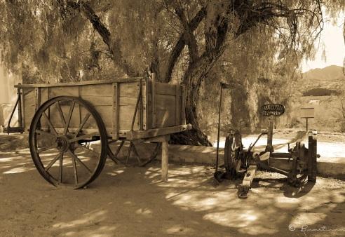 Carro antiguo. Molinos. Provincia de Salta. Argentina 2017
