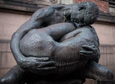 Escultura. Galería Nacional Oslo. Noruega 2017