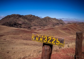 Momentos de aclimatación en el NOA. 3.225 msnm