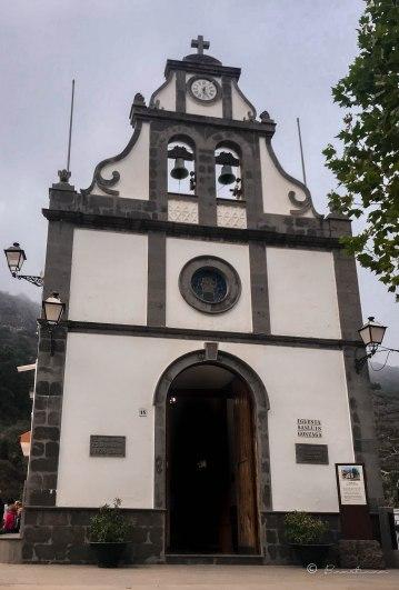 Iglesia San Luis Gonzaga. Valsendero. Valleseco. Gran Canaria 2017.