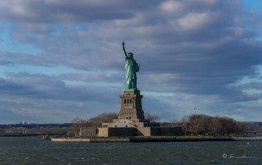 Estatua de La Libertad. NYC 2016.