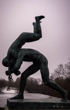 Escultura. Parque Vigeland. Oslo. Noruega 2017